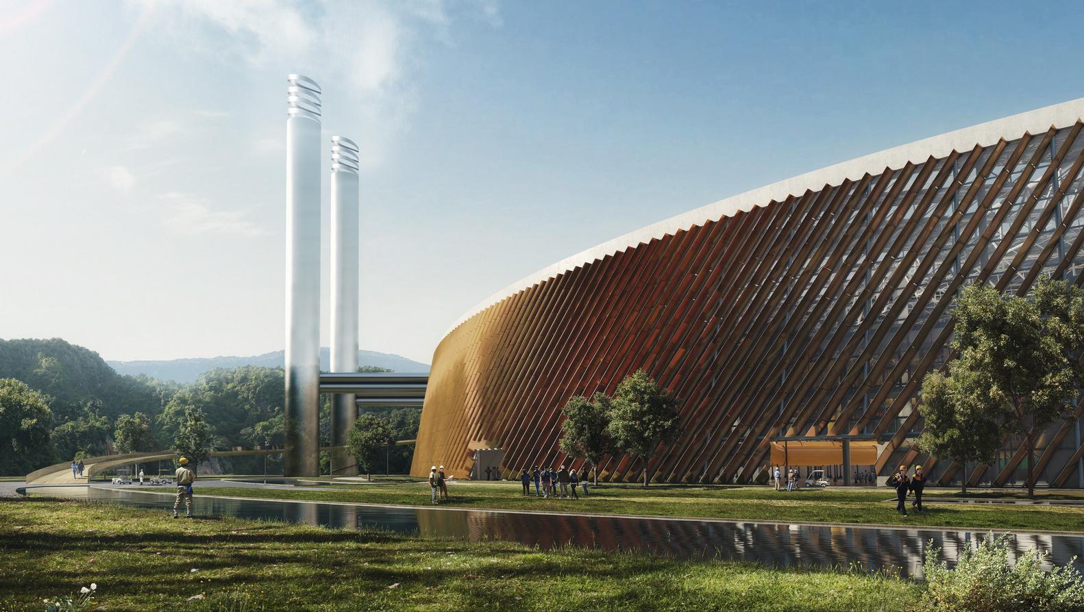 بزرگترین زباله سوز دنیا در چین