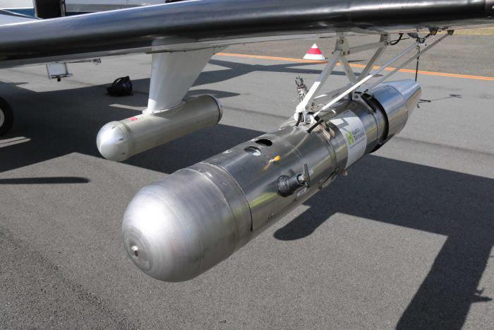 هواپیمای بارورسازی در تاسمانیا، حامل یدید نقره
