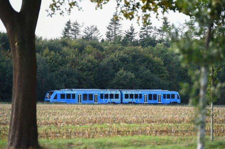 اولین قطار هیدروژنی جهان